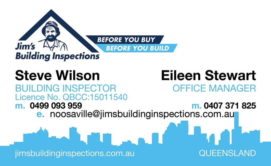 NOOSAVILLE JIM'S BUILDING INSPECTIONS