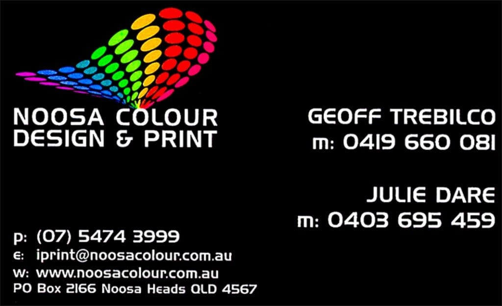 Noosa Printing, Graphic Design and Web Services